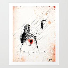 Farewell my Darling! Art Print