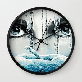 Once Upon A Time - Frozen Heart Wall Clock