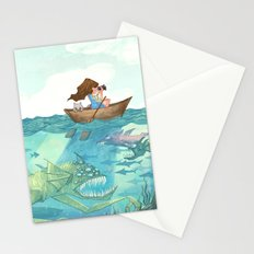 The Lake of Lurking Monsters Stationery Cards