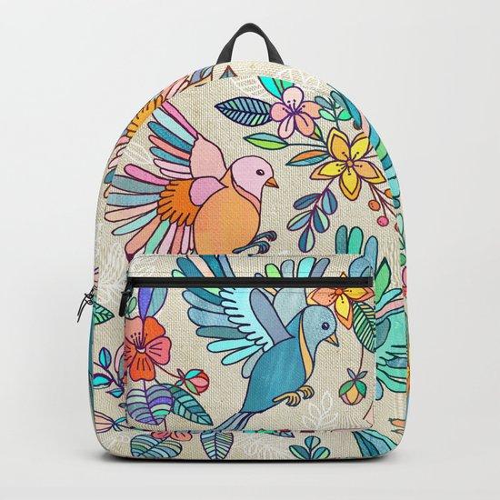 Whimsical Summer Flight Backpack
