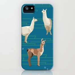 Peruvian Llamas iPhone Case