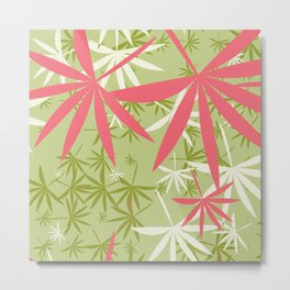 Leaves 3c Metal Print