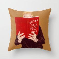 Studying Throw Pillow