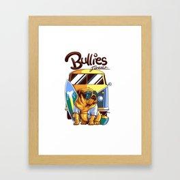 Bullies Forever Framed Art Print