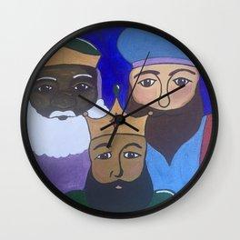 Tres Reyes Mago Wall Clock