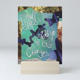 Small Steps Mini Art Print