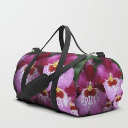 Tropical Flowers Orchids Duffle Bag
