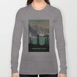 Moraine Lake Poster Long Sleeve T-shirt