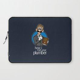 How I Met Your Plumber Laptop Sleeve