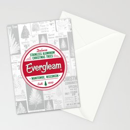 Evergleam Seal Stationery Cards
