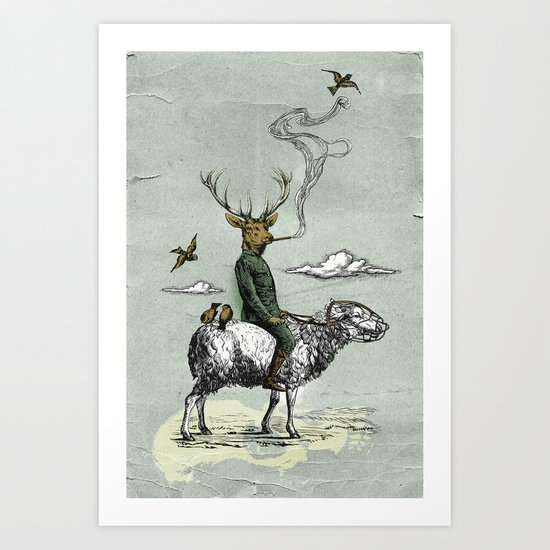 Cavalry Art Print