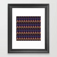 Maze of Quilts Framed Art Print