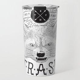 Eating trash Travel Mug