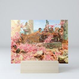The Roses of Heliogabalus by Sir Lawrence Alma-Tadema Mini Art Print