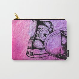 Violet Sneakers Carry-All Pouch