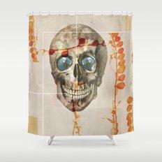 skull#04 Shower Curtain