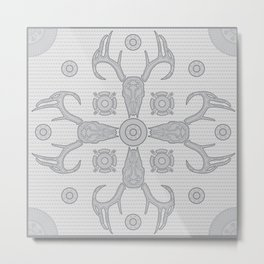 Hannibal Lace -- Clean Metal Print