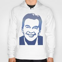 dick Hoodies featuring Dick Clark by PSimages