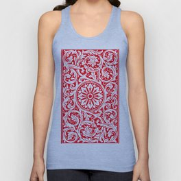 Playing Card (Red Back) Unisex Tank Top