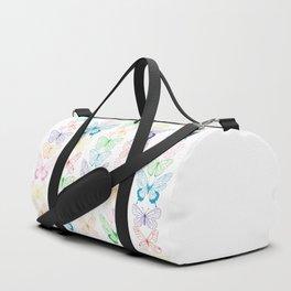 Butterfly Rainbow Duffle Bag