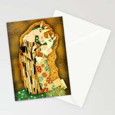 """The Kiss"" Stationery Cards"
