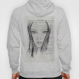 Nina - Pencil drawing Hoody