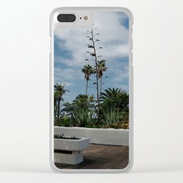Afternoon in Tenerife Clear iPhone Case