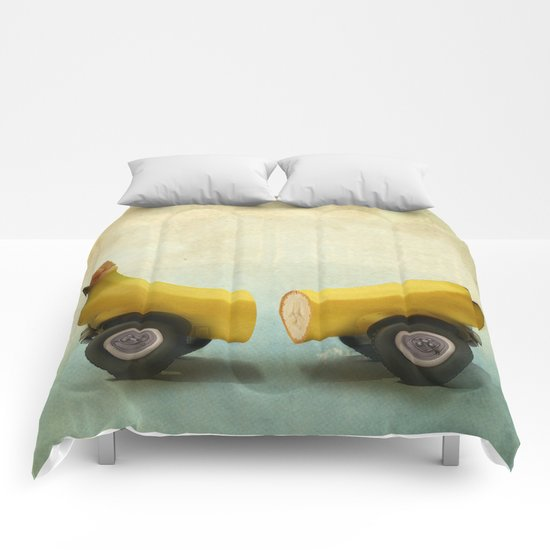 Banana Splitmobile Comforters