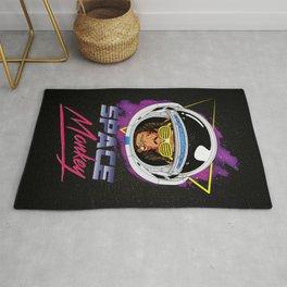 Space Monkey 1980s Rug