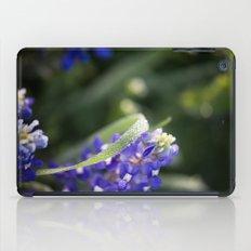 Blue Morning Dew iPad Case