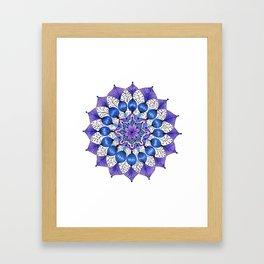 Rhapsodala in Blue Framed Art Print