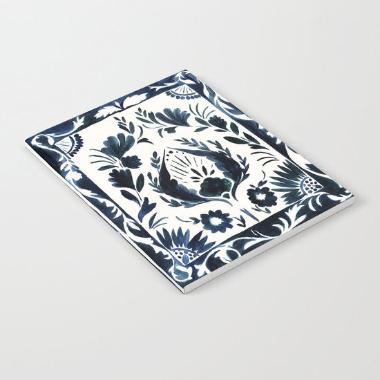 Nadia Flower Notebook