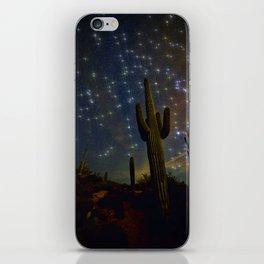 A Starry Desert Evening iPhone Skin