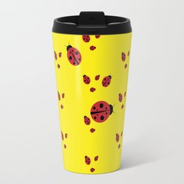 Lady-pattern-bug Travel Mug