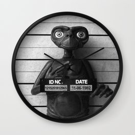 E.T. The Extra-Terrestrial Lineup Wall Clock