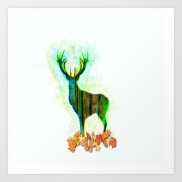 Deerskin Art Print