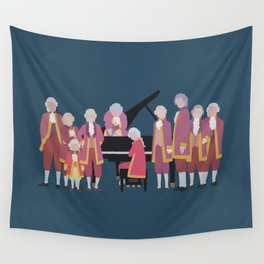 the piano forest Wall Tapestry