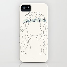 Janis with love iPhone Case