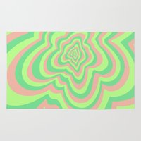 watermelon Area & Throw Rugs featuring Watermelon by Popsicle Illusion