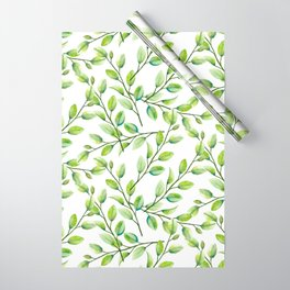 Branches and Leaves Wrapping Paper