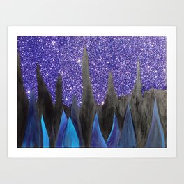 Night Sky #1 Art Print