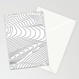 Topographic #440 Stationery Cards