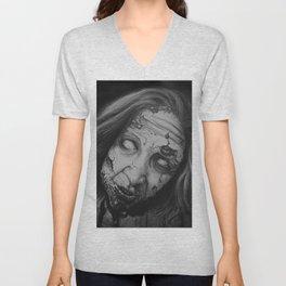 Zombie Stare Unisex V-Neck