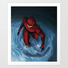 Dare devil Art Print