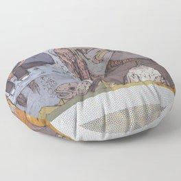 badfish>sadboy Floor Pillow