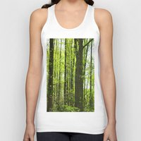 fairytale Tank Tops featuring Fairytale Forest by Kelsey Hunt