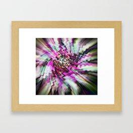 Pink Freudian Framed Art Print