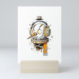 Snowbot Mini Art Print