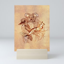 Australian Wildlife Mini Art Print