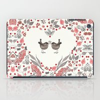 wesley bird iPad Cases featuring BIRD by Monika Strigel